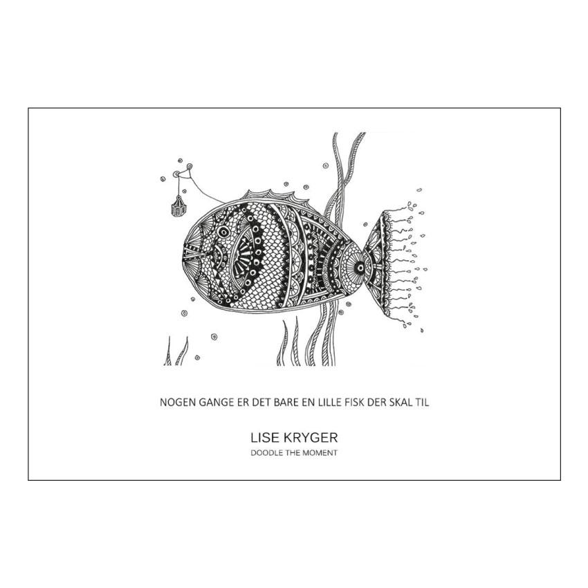 Nogle gange er det bare en lille fisk der skal til / Lise Kryger Studio