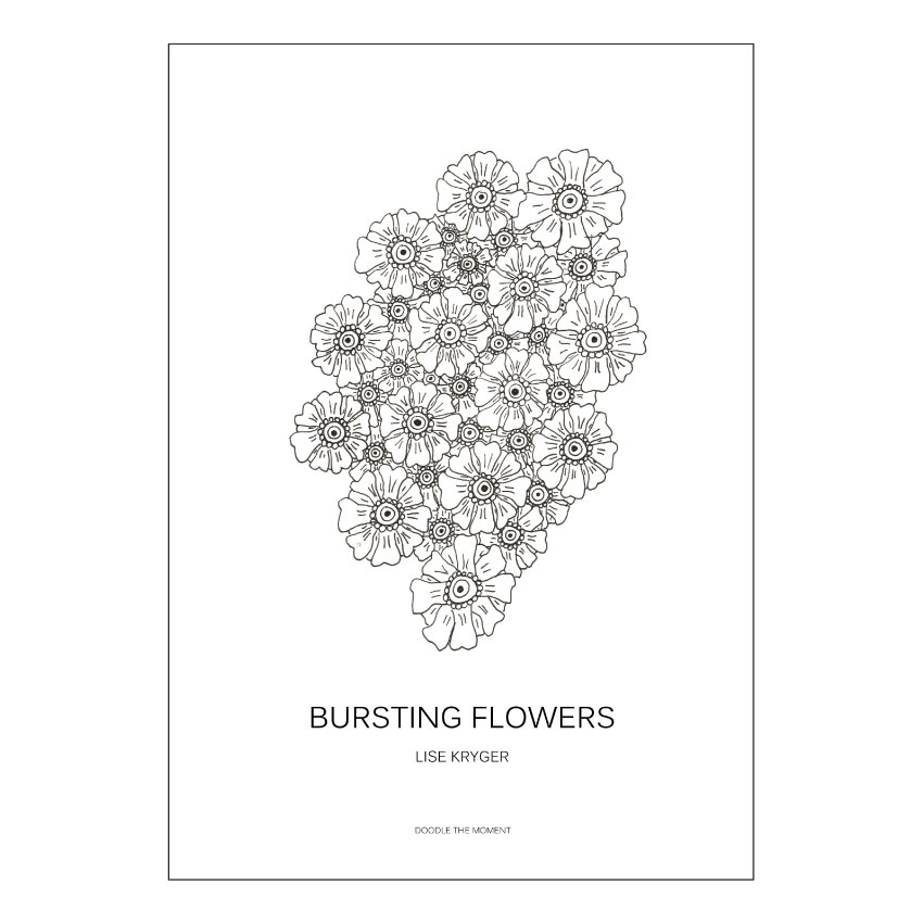 Bursting flowers - Lise Kryger