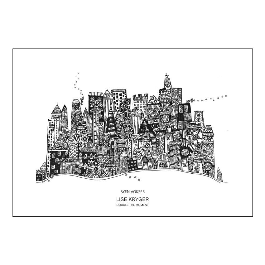 Byen vokser - Lise Kryer