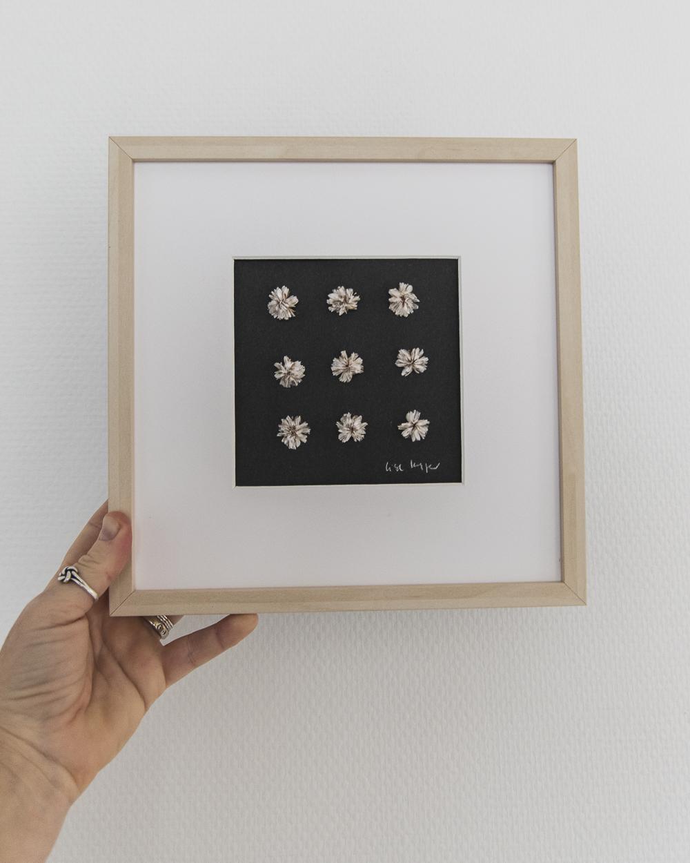 Tørrede Engelsk græs - blomsterværk - Lise Kryger Studio