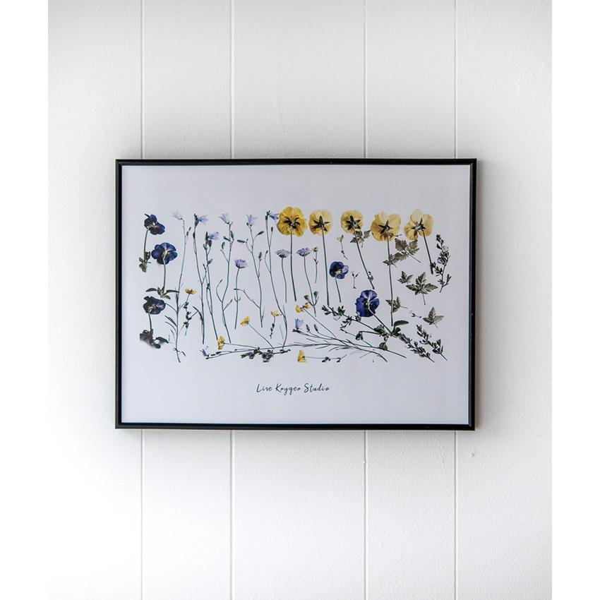 Plakat Sommerblomster - Lise Kryger Studio